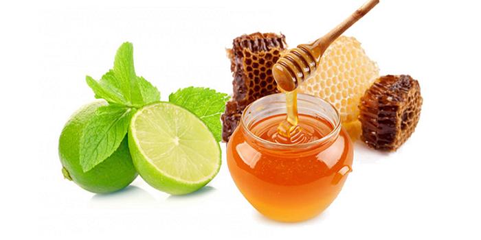 Mật ong và chanh nếu kết hợp sẽ mang đến hiệu quả điều trị ho có đờm rất tốt.