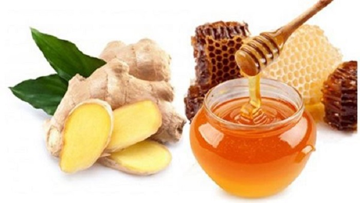Sử dụng gừng và mật ong mang đến hiệu quả chữa ho có đờm cao.