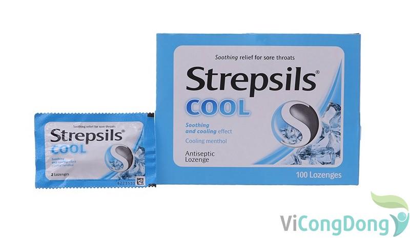 Cách sử dụng kẹo ngậm đau họng Strepsil