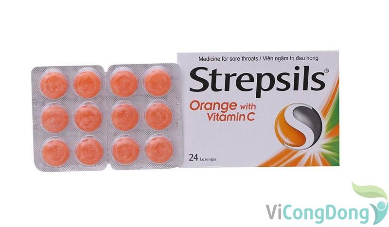 Kẹo ngậm Strepsils có dùng cho bà bầu