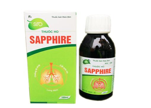 Siro uống trị ho Sapphire