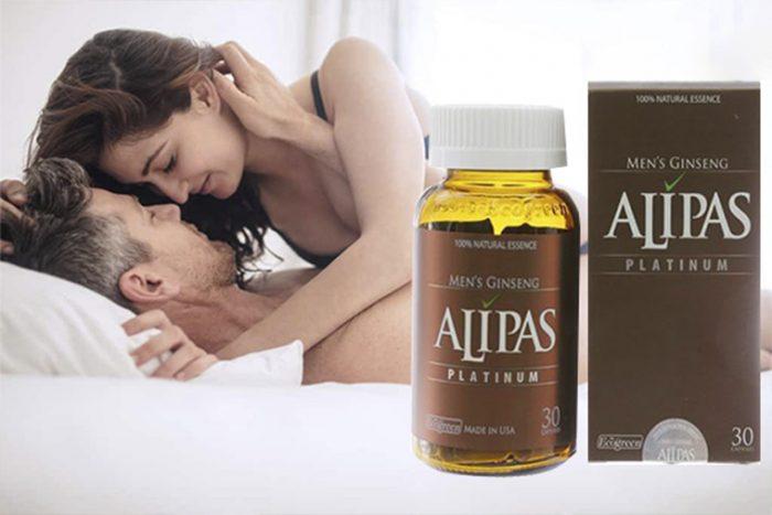 Sâm Alipas Platinum uống bao lâu