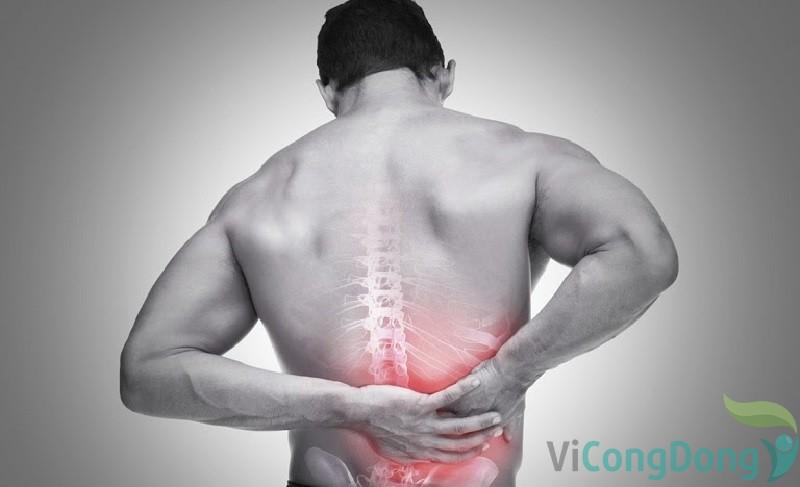 Mắc bệnh lý về xương khớp khiến tập bụng bị đau lưng