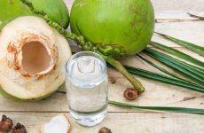 cách chữa đau dạ dày bằng quả dừa