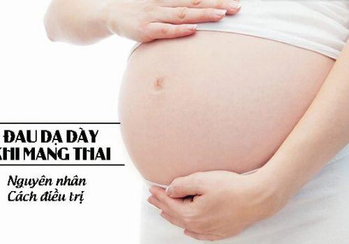 Nguyên nhân đau dạ dày khi mang thai
