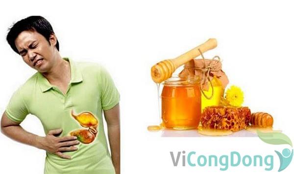 đau dạ dày có nên uống mật ong không