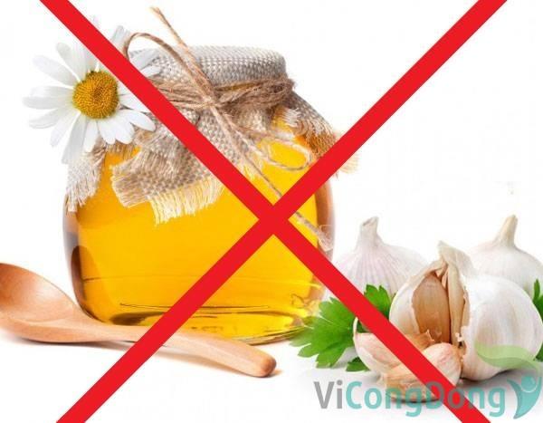 Một số lưu ý khi sử dụng mật ong cho người bệnh