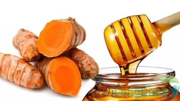 Nghệ tươi ngâm mật ong trị đau dạ dày
