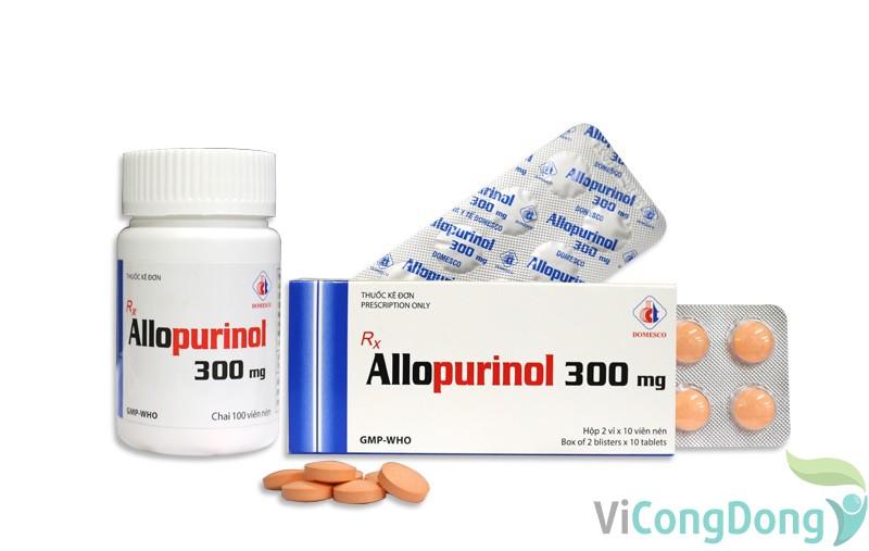 Cách sử dụng thuốc Allopurinol 300mg