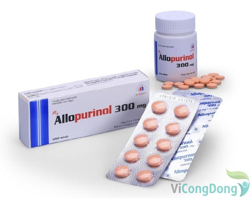 lưu ý khi sử dụng thuốc Allopurinol 300mg