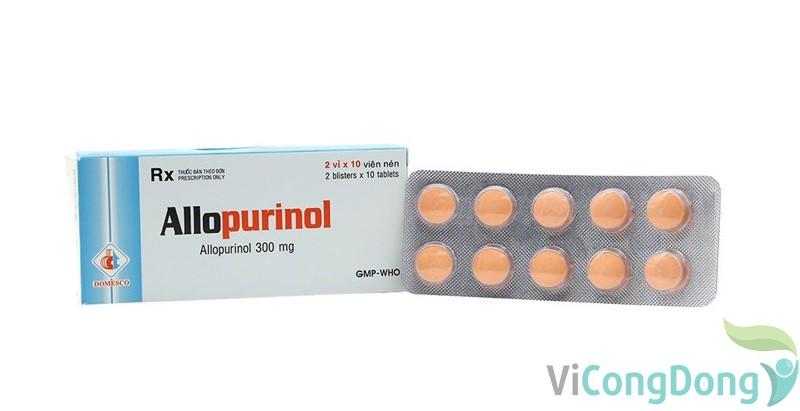 Thuốc Allopurinol 300mg