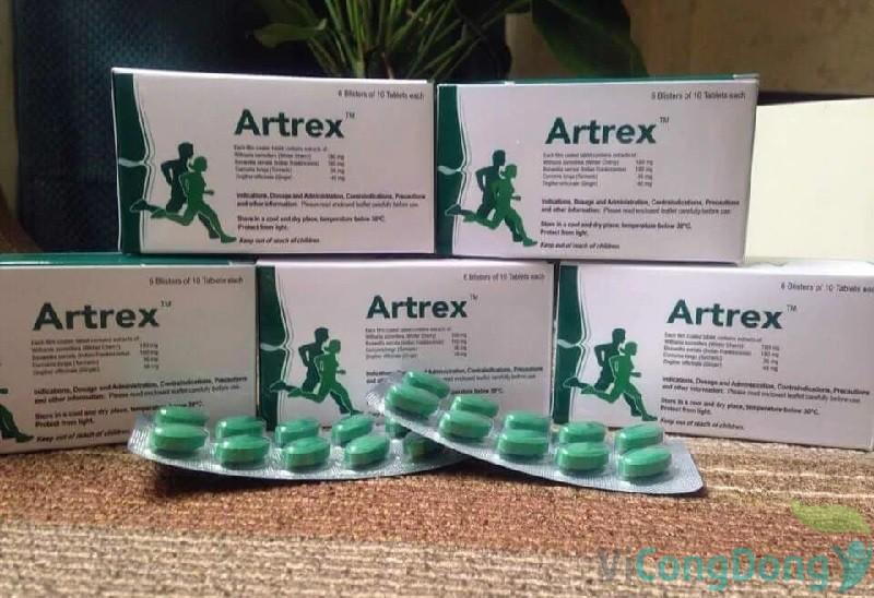 Thuốc Artrex có giá bao nhiêu