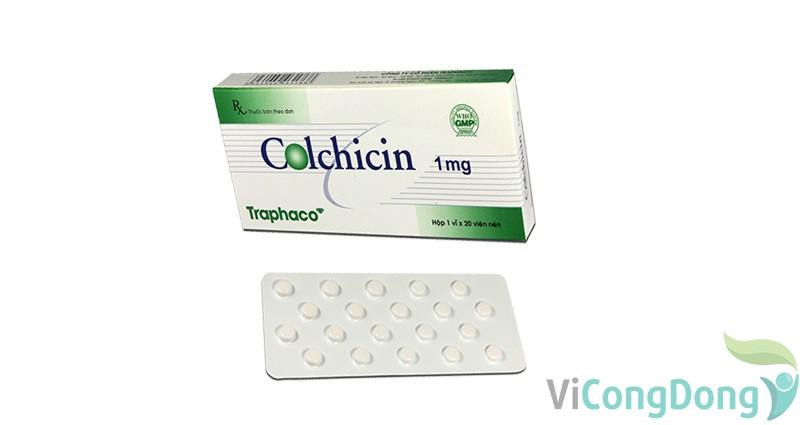 Thuốc colchicin 1mg