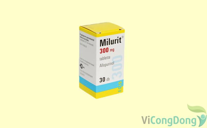 Có nên dùng thuốc Milurit 300mg không