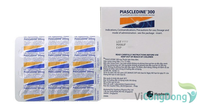 Tác dụng phụ của thuốc Piascledine 300mg