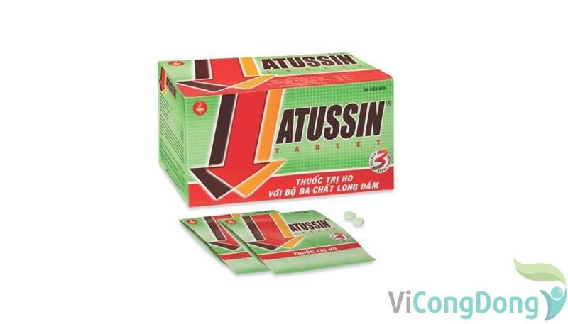 Thuốc ho Atussin
