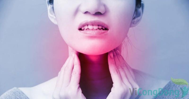 Triệu chứng viêm họng
