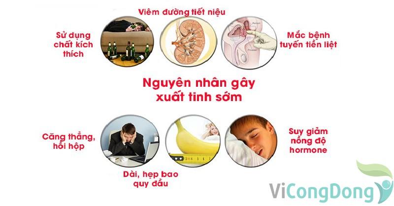 Nguyên nhân gây xuất tinh sớm ở nam giới
