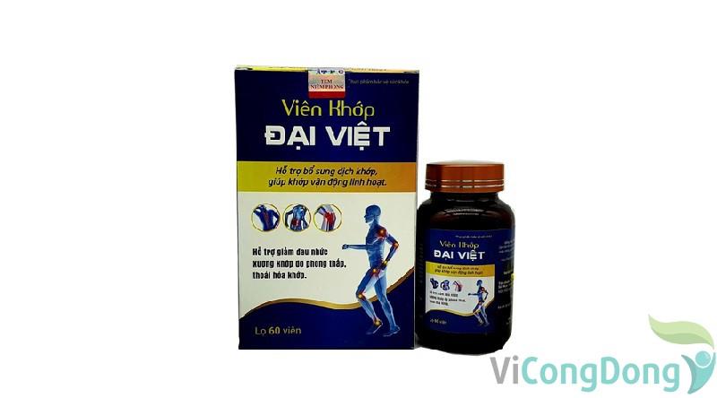 Công dụng của xương khớp Đại Việt