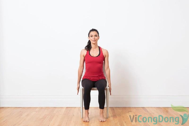 Tập các bài tập yoga cho người thoái hóa khớp gối