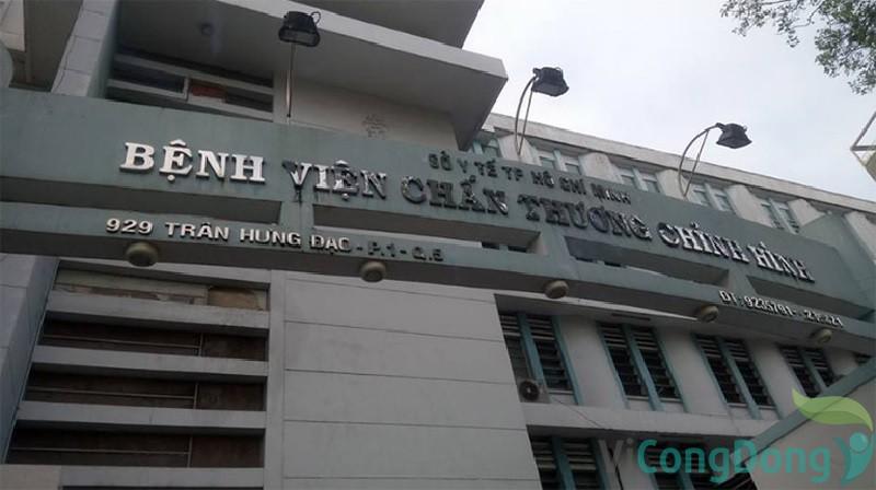 Bệnh viện chấn thương chỉnh hình thành phố Hồ Chí Minh