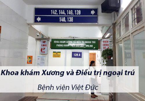 Khám xương khớp ở bệnh viện nào Hà Nội