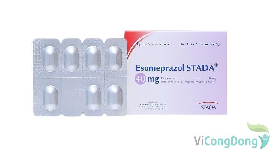 Thuốc Esomeprazole chữa bệnh gì
