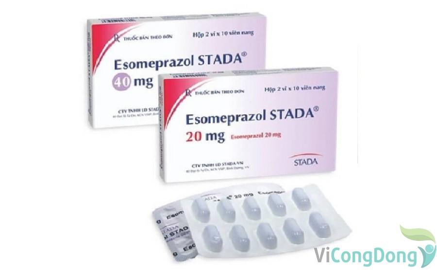 Liều dùng thuốc Esomeprazole
