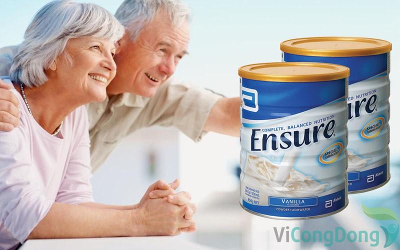 bị thoái hóa cột sống nên uống sữa gì - Sữa bột Ensure Gold