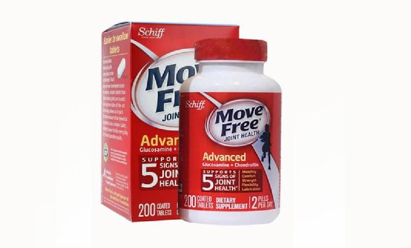 Đau lưng nên uống thuốc gì - thuốc Move Free Joint Health Advanced