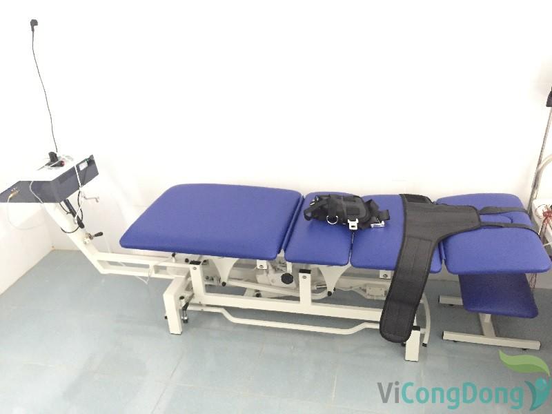 dụng cụ chữa thoát vị đĩa đệm - Máy kéo giãn cột sống