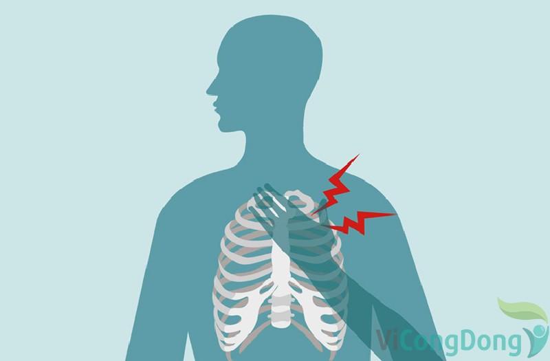 Hít thở sâu bị đau lưng do ung thư phổi