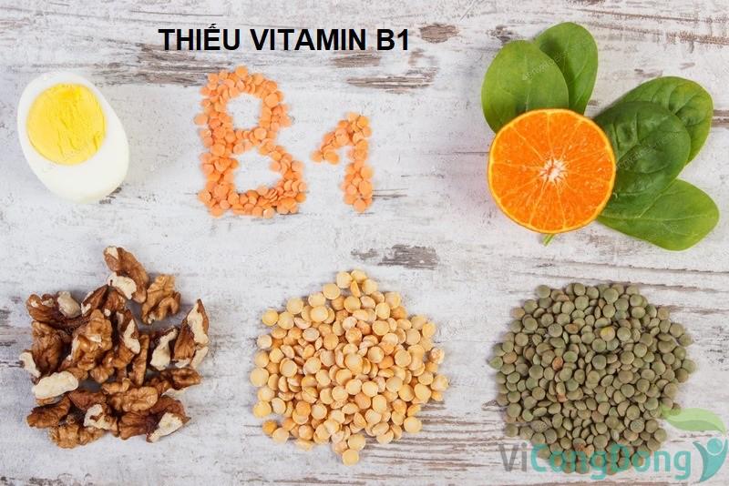 Tê tay chân là thiếu chất gì - Thiếu Vitamin B1