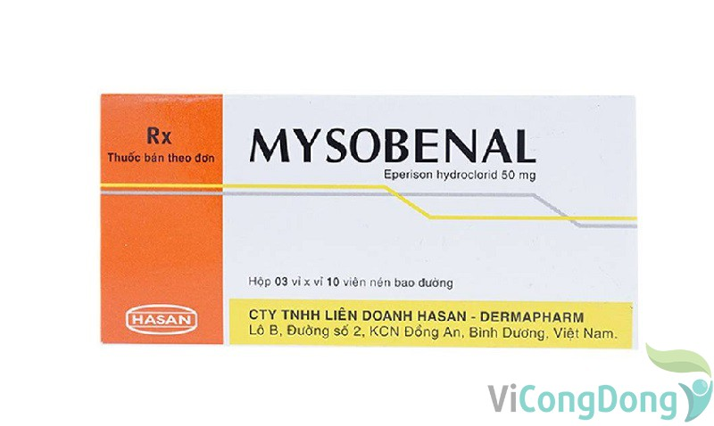 Thuốc Mysobenal 50mg