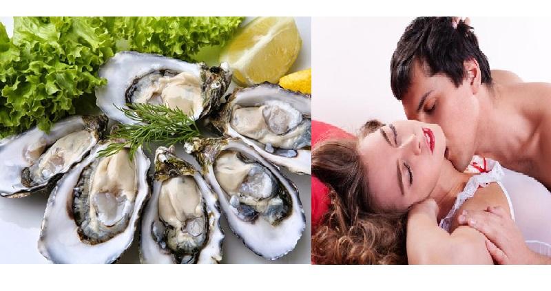 Ăn hàu có tác dụng gì cho nam giới - Tăng hưng phấn cuộc yêu