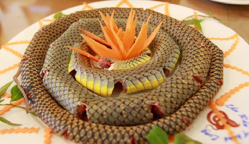 Ăn thịt rắn có bị liệt dương không