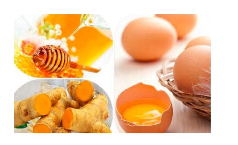 Chữa yếu sinh lý bằng trứng gà, mật ong và nghệ tươi