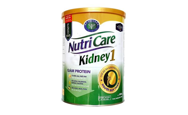 Người suy thận nên uống sữa gì? Sữa Nutricare Kidney 1