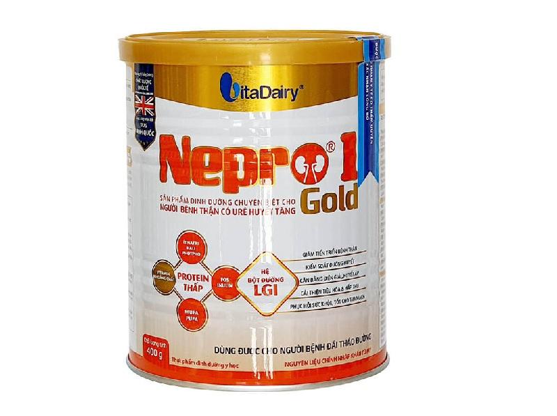 Người suy thận nên uống sữa gì - Sữa Nepro