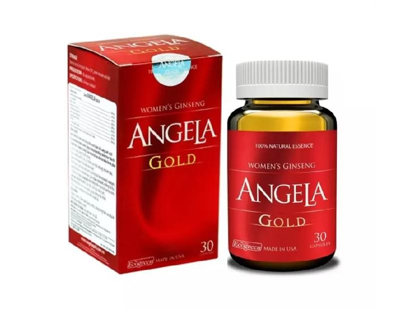 Sâm Angela Gold thuốc tăng cường sinh lý nữ tốt nhất nổi tiếng của Mỹ