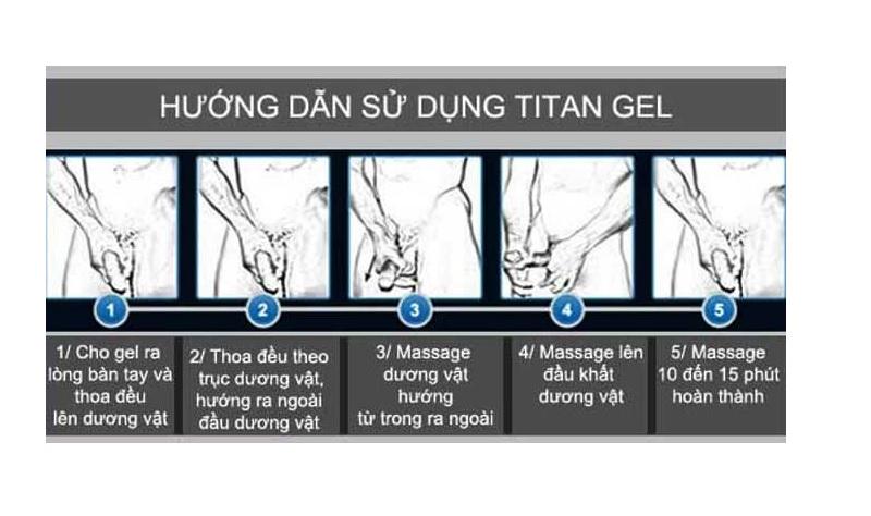 Hướng dẫn cách sử dụng Titan Gel
